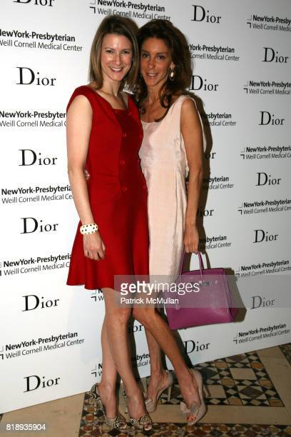Lizzie Tisch and Dori Cooperman attend The 25th Anniversary New York Presbyterian LyingIn Hospital Fashion Show and Luncheon featuring DIOR Fall 2010...