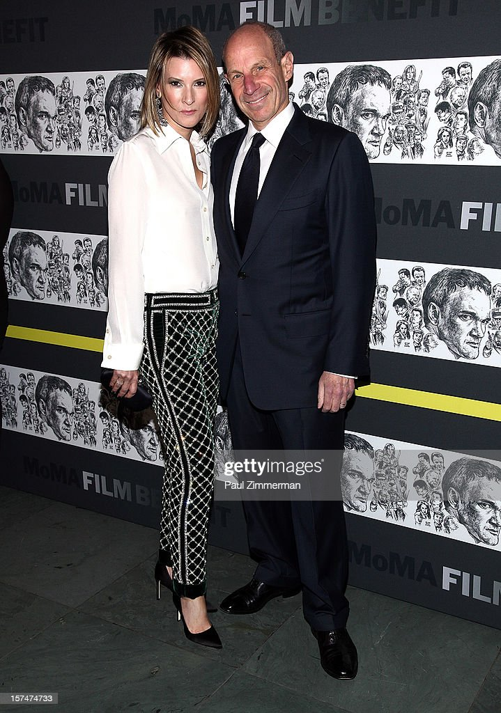 Lizzie Tisch and <a gi-track='captionPersonalityLinkClicked' href=/galleries/search?phrase=Jonathan+Tisch&family=editorial&specificpeople=672191 ng-click='$event.stopPropagation()'>Jonathan Tisch</a> attend A Tribute To Quentin Tarantino at MOMA on December 3, 2012 in New York City.