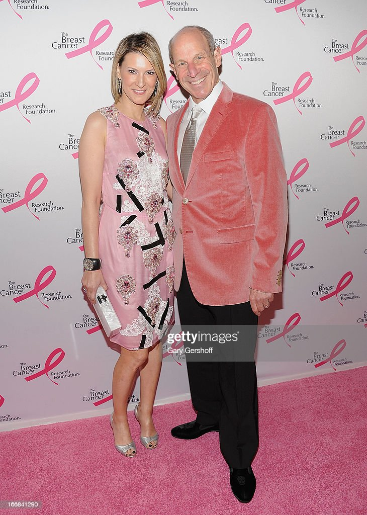 Lizzie Tisch and Jonathan Tisch attend The Breast Cancer Research Foundation's 2013 Hot Pink Party at The Waldorf=Astoria on April 17, 2013 in New York City.