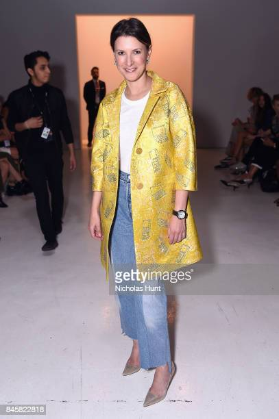 Lizzie Tisch attends Libertine fashion show during New York Fashion Week The Shows at Gallery 3 Skylight Clarkson Sq on September 11 2017 in New York...