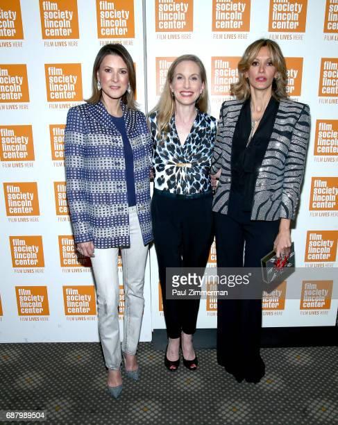 Lizzie Tisch ballerina Wendy Whelan and Ulla Parker attend the 'Restless Creature Wendy Whelan' Opening Night Screening at Elinor Bunin Munroe Film...