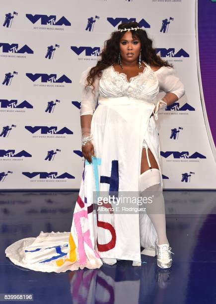 Lizzo attends the 2017 MTV Video Music Awards at The Forum on August 27 2017 in Inglewood California