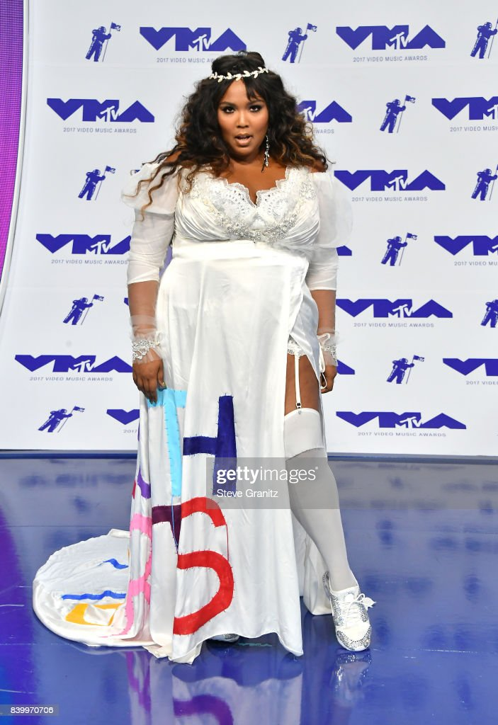 Lizzo attends the 2017 MTV Video Music Awards at The Forum on August 27, 2017 in Inglewood, California.