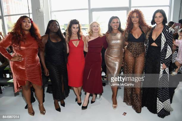 Lizzo Danielle Brooks Gina Gershon Patricia Clarkson Vanessa Williams Jillian Hervey and Leigh Lezark attend the Christian Siriano fashion show...