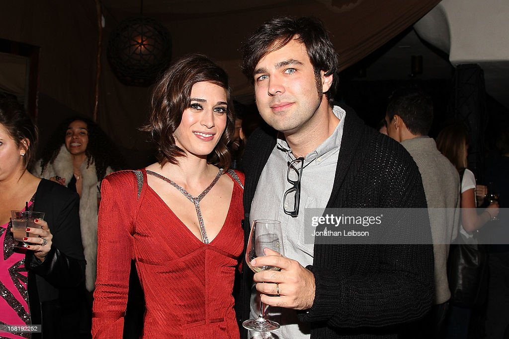 <a gi-track='captionPersonalityLinkClicked' href=/galleries/search?phrase=Lizzy+Caplan&family=editorial&specificpeople=599560 ng-click='$event.stopPropagation()'>Lizzy Caplan</a> and Michael Mohan attend the 'Save the Date' screening hosted by genart And Brancott Estate Wines at Hyde Lounge on December 10, 2012 in Los Angeles, California.