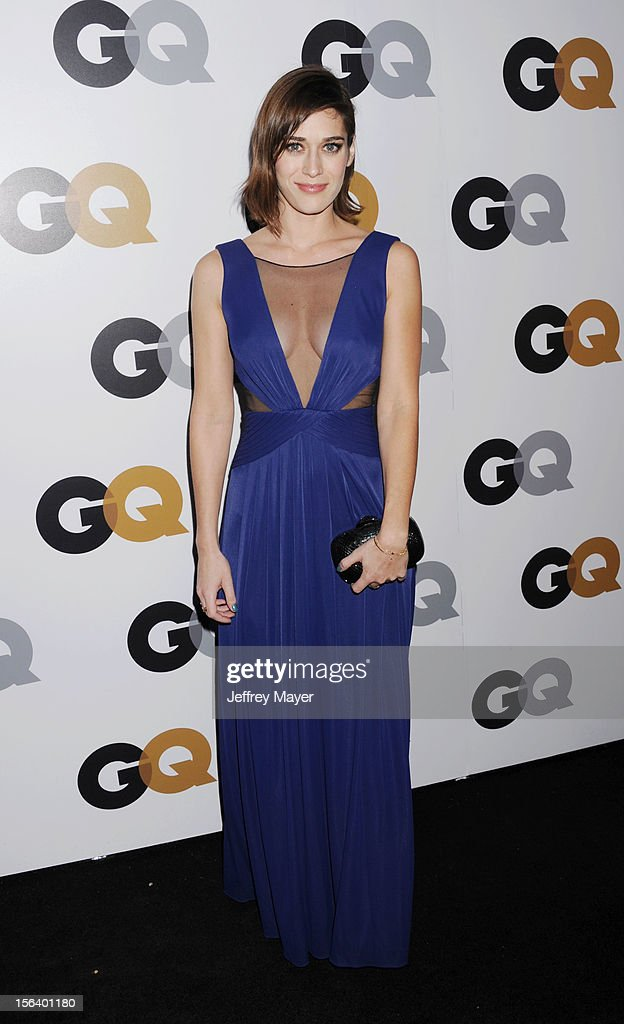 Lizzy Caplan arrives at the GQ Men Of The Year Party at Chateau Marmont Hotel on November 13, 2012 in Los Angeles, California.