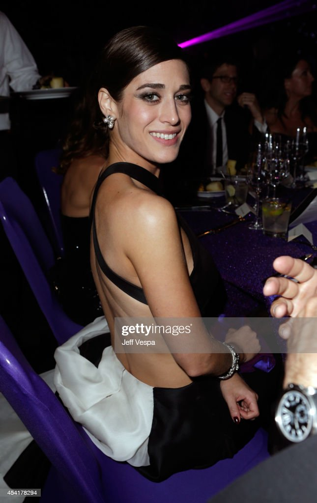 Lizzy Caplan attends the 66th Annual Primetime Emmy Awards Governors Ball held at Los Angeles Convention Center on August 25, 2014 in Los Angeles, California.