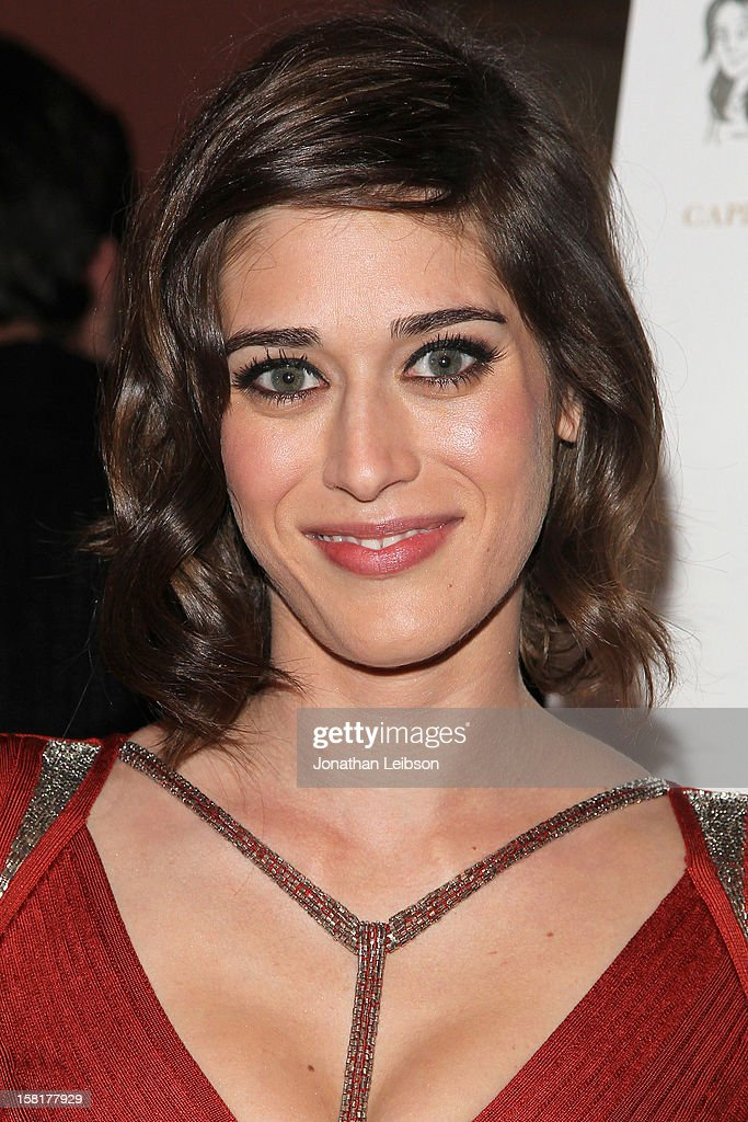 Lizzy Caplan attends the 'Save the Date' screening hosted by Genart and Brancott Estate Wines held at Sundance Cinema on December 10, 2012 in Los Angeles, California.