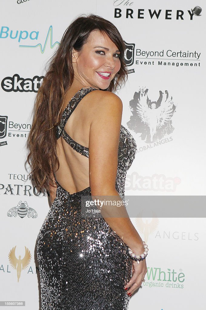 Lizzy Cundy attends The Global Angels Awards at The Brewery on November 9, 2012 in London, England.