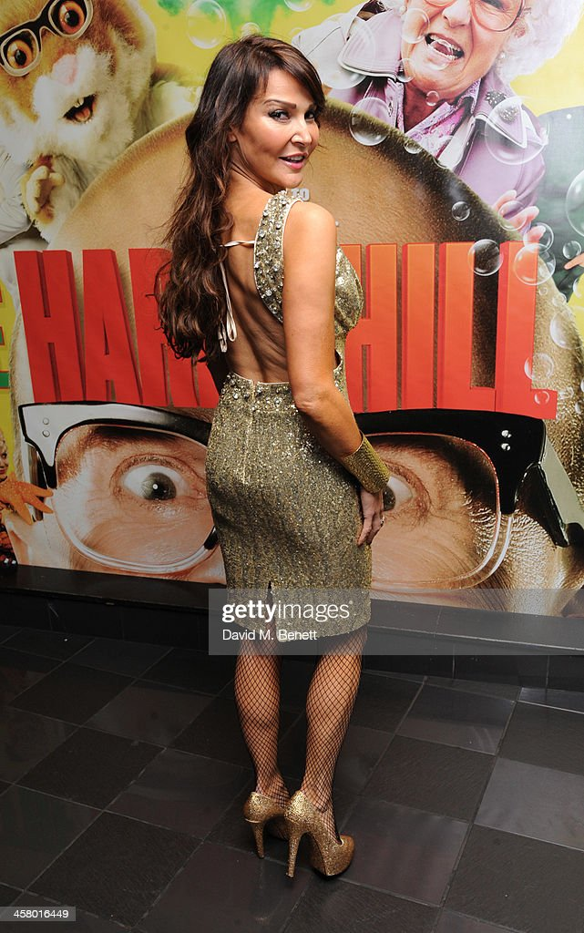 Lizzy Cundy attends 'The Harry Hill Movie' World Premiere at Vue Leicester Square on December 19, 2013 in London, England.