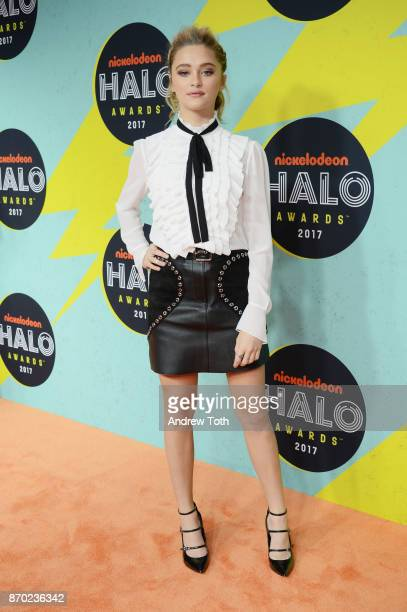 Lizzy Greene attends the 2017 Nickelodeon Halo Awards at Pier 36 on November 4 2017 in New York City