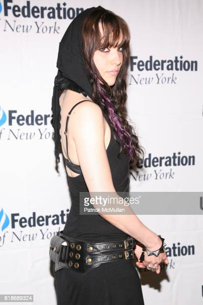 Lizzy Hale attends UJAFEDERATION OF NEW YORK honors JULIE GREENWALD and CRAIG KALLMAN with The Music Visionary of the Year Award at The Pierre on...