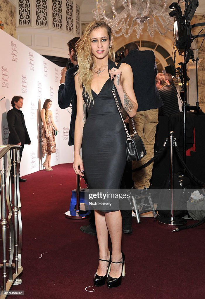 Lizzy Jagger attends the British Fashion Awards 2012 at The Savoy Hotel on November 27, 2012 in London, England.