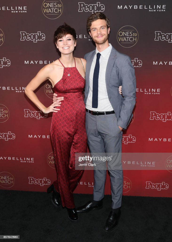 Lizzy McGroder and Jack Quaid attend People's 'Ones To Watch' at NeueHouse Hollywood on October 4, 2017 in Los Angeles, California.