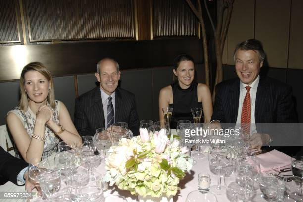 Lizzy Tisch Jonathan Sessa Von Richthofen And Richard Johnson Attend FOUR SEASONS Owners Julian Niccolini