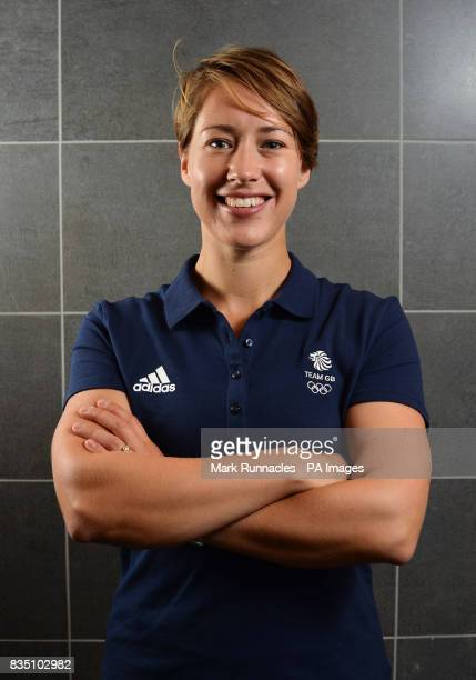 Lizzy Yarnold during the PyeongChang 2018 Olympic Winter Games photocall at Heriot Watt University Oriam PRESS ASSOCIATION Photo Picture date Friday...