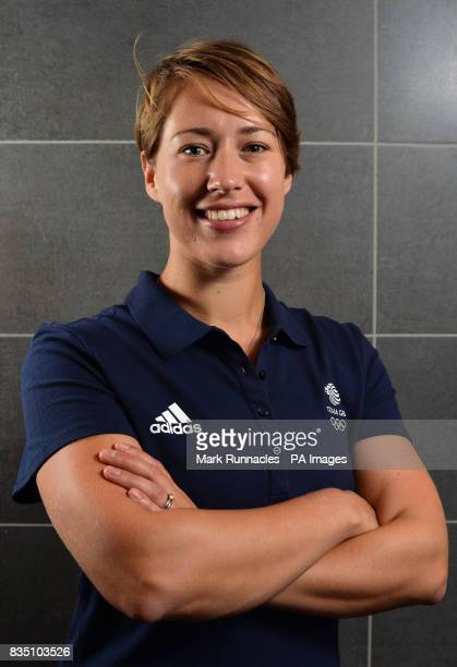 Lizzy Yarnold during the PyeongChang 2018 Olympic Winter Games photocall at Heriot Watt University Oriam
