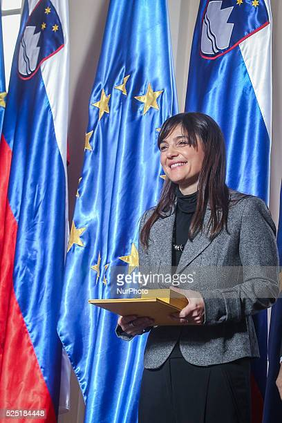 Ljubljana 13 January Slovenian president Borut Pahor decorated president of the Italian region of FriuliVenezia Giulia Debora Serracchiani with...