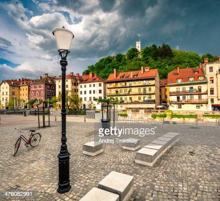 Ljubljana city : Stock Photo