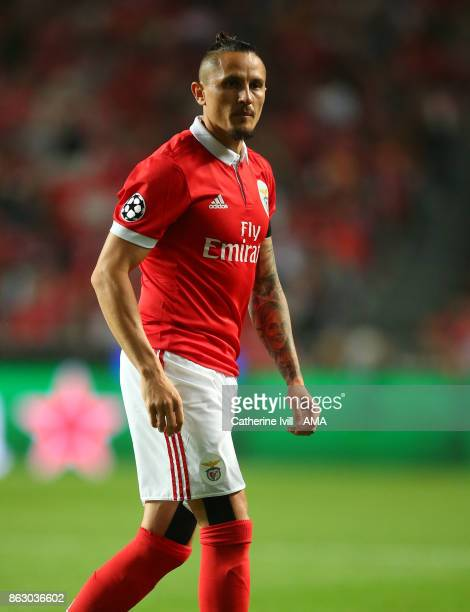 Ljubomir Fejsa of Benfica during the UEFA Champions League group A match between SL Benfica and Manchester United at Estadio da Luz on October 18...