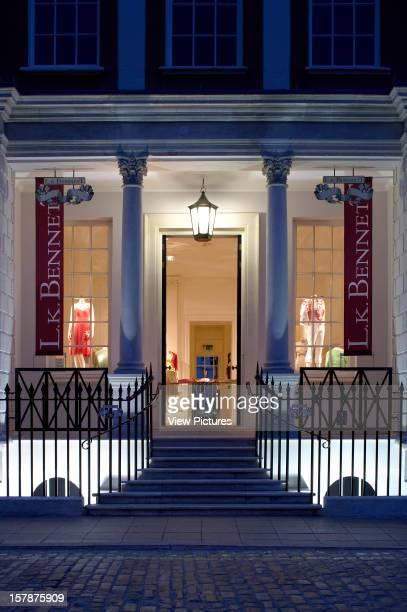 Lk Bennett Shop Liverpool United Kingdom Architect T P Bennett Lk Bennett Shop Portrait View Of Shop Front With Signage