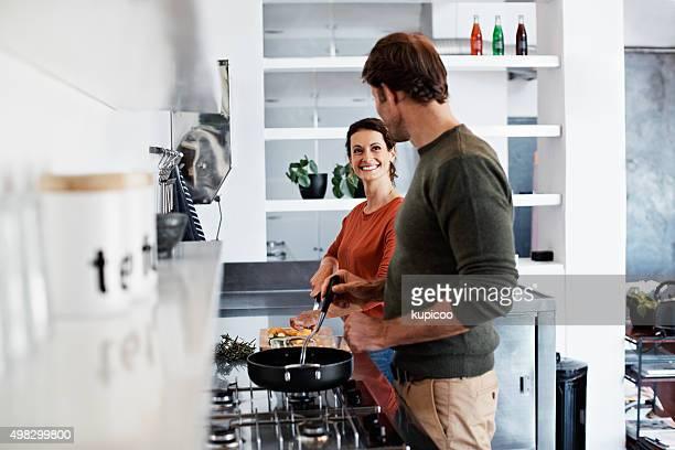 Vou dar-lhe uma coisa acerca de cozinhado