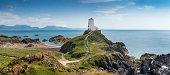 A panorama of Llanddwyn Island, Anglesey
