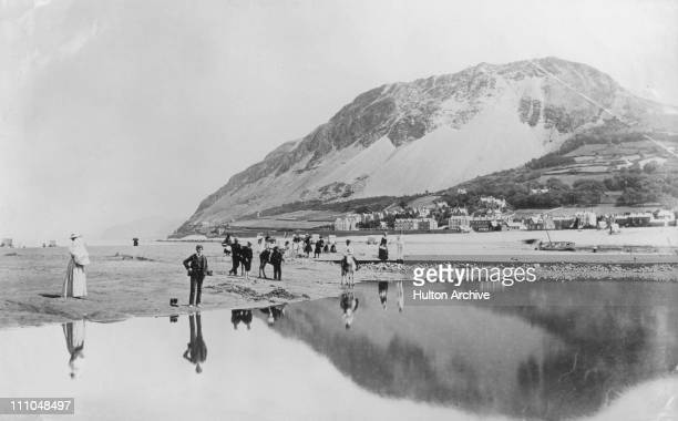 Llanfairfechan Carnarvon Wales circa 1910