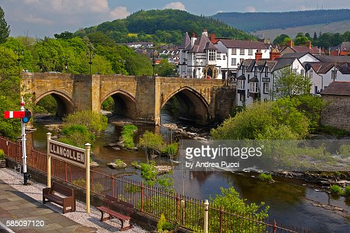 Llangollen United Kingdom  City new picture : Llangollen, Denbighshire, Wales, United Kingdom