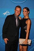 Lleyton Hewitt and Bec Hewitt arrive at the 2014 Newcombe Medal Awards at Crown Palladium on November 24 2014 in Melbourne Australia