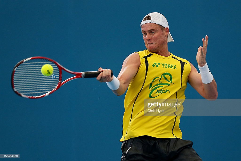 Lleyton Hewitt Practice Session