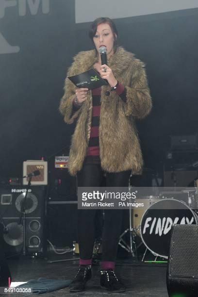 Lliana Bird at Xfm's Winter Wonderland at the O2 Apollo Manchester