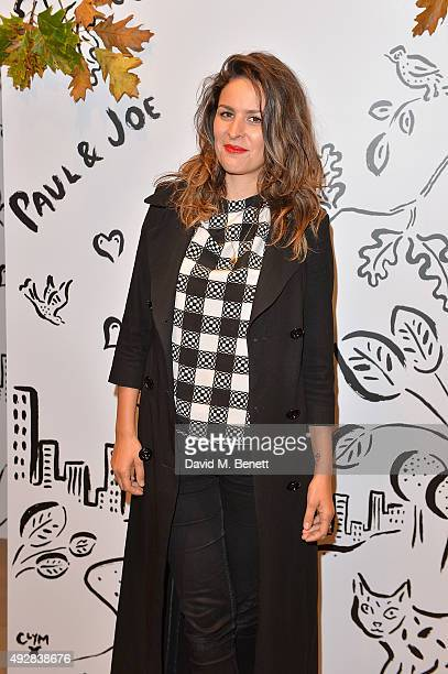 Lliana Bird attends the launch of the Paul Joe London flagship store hosted by Grey Goose on October 15 2015 in London England
