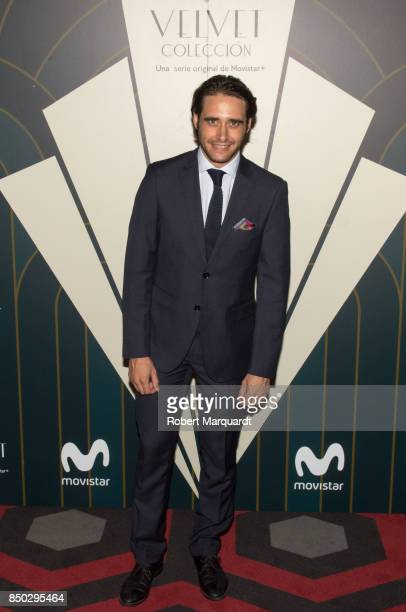 Llorenc Gonzalez poses during a photocall for the premiere of 'Velvet' at the Sala Phenomena on September 20 2017 in Barcelona Spain