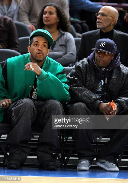 Lloyd Banks and guest during...