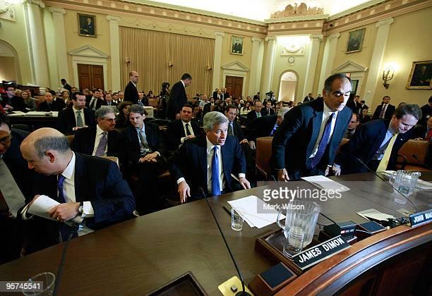 Lloyd Blankfein CEO of Goldman Sachs Group Inc James Dimon CEO of JPMorgan Chase Company John Mack chairman of the Board of Morgan Stanley Brian...