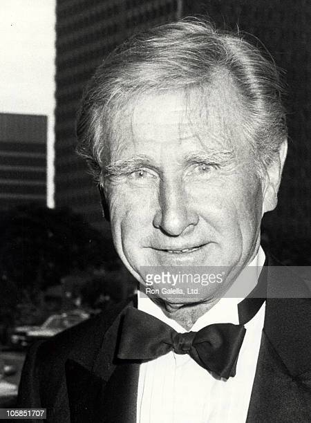 Lloyd Bridges during Valentino Awards honoring Gregory Peck at Century Plaza Hotel in Century City California United States