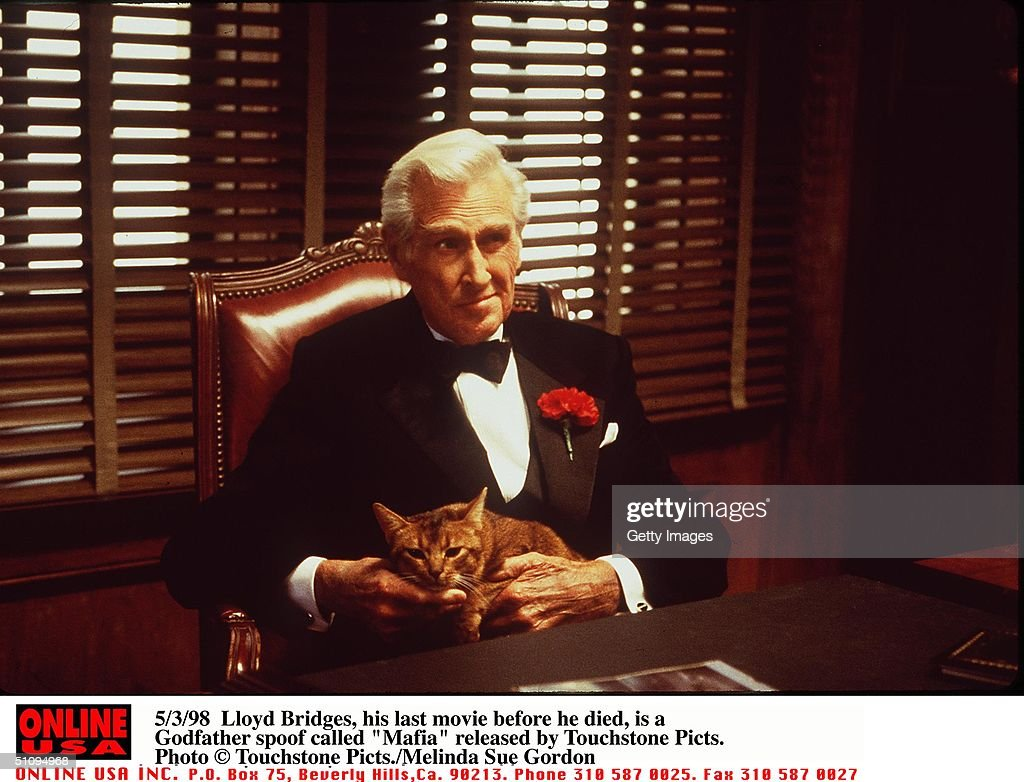 Lloyd Bridges His Last Movie Before He Died Is A Godfather Spoof Called 'Mafia' Released By Touchstone Picts