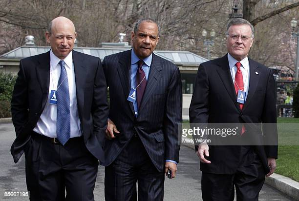 Lloyd Craig Blankfein CEO of The Goldman Sachs Group Inc Kenneth Irvine Chenault CEO and Chairman of American Express Kenneth D Lewis Chairman CEO...