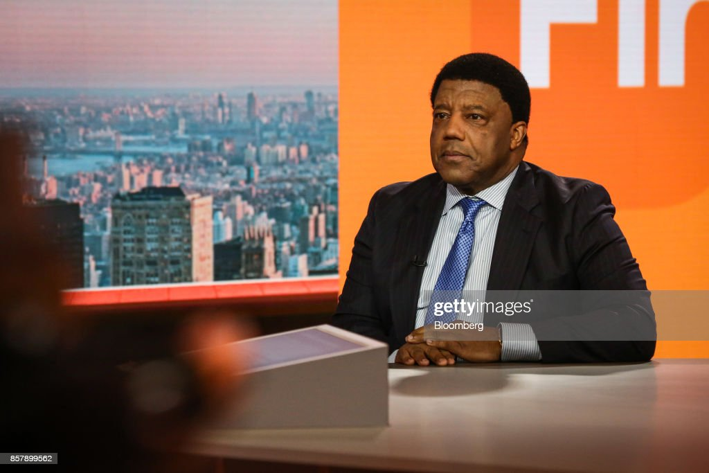 Lloyd Dean, chief executive officer of Dignity Health, listens during a Bloomberg Television interview in New York, U.S., on Thursday, Oct. 5, 2017. Dean discussed the debate over health care and the uncertainty over Obamacare's future. Photographer: Christopher Goodney/Bloomberg via Getty Images