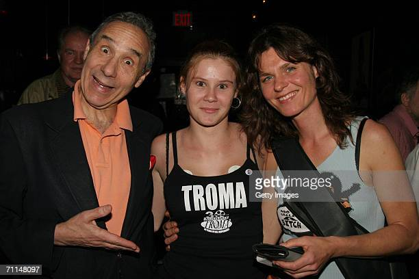 Lloyd Kaufman Hypochondria and Ulli Gruber attend the Book Release Party for The Toxic Avenger The Novel at Fontanas on June 6 2006 in New York