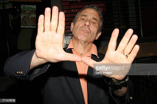 Lloyd Kaufman poses at the Book Release Party for The Toxic Avenger The Novel at Fontanas on June 6 2006 in New York