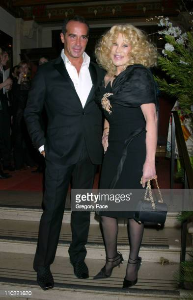 Lloyd Klein and Jocelyne Wildenstein during Catherine Deneuve and The French Institute Alliance Francaise Host 'La Nuit Des Etoiles' a French Film...