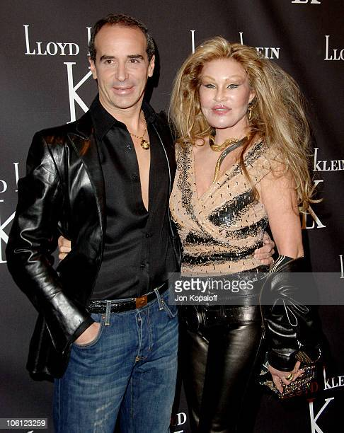 Lloyd Klein and Jocelyne Wildenstein during Lloyd Klein Flagship Store Opening November 14 2006 at Lloyd Klein Flagship Store in Los Angeles...