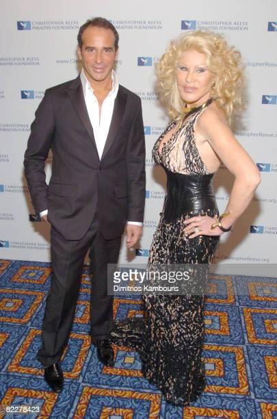 Lloyd Klein and Jocelyne Wildenstein