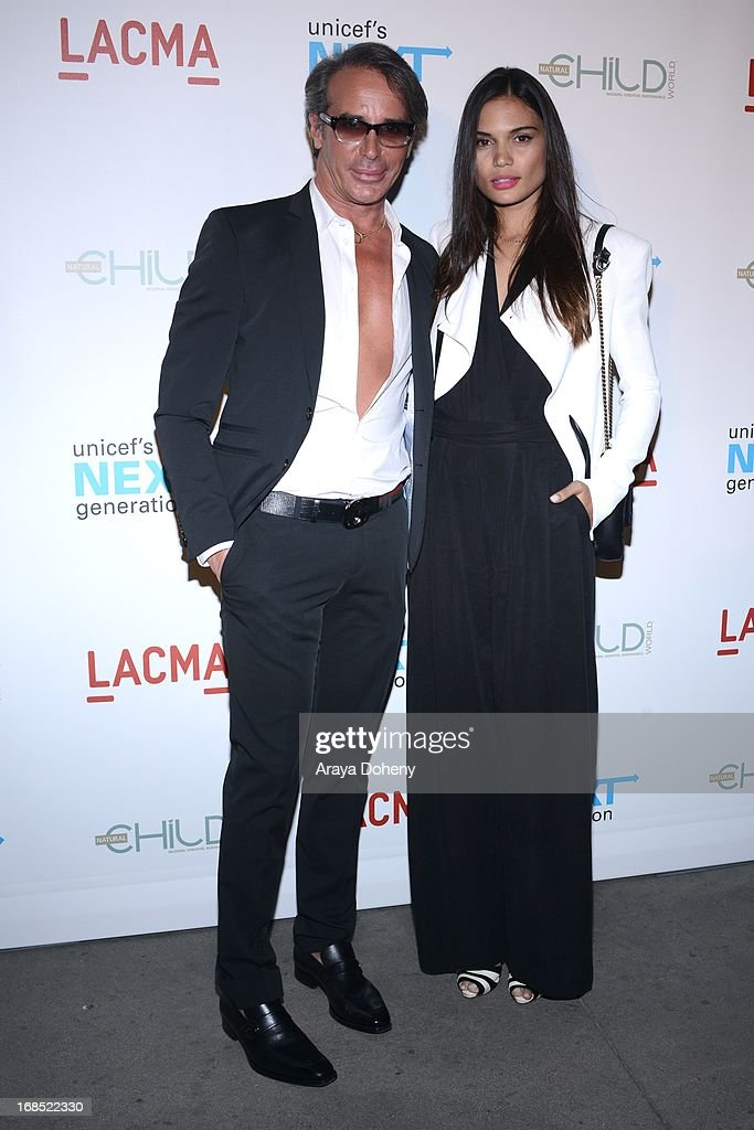 Lloyd Klein and Rose Costa attend the UNICEF NextGen Los Angeles launch at LACMA on May 9, 2013 in Los Angeles, California.