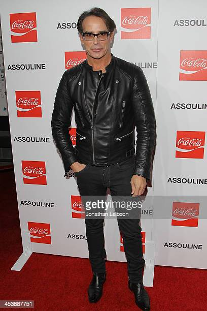 Lloyd Klein attends the Assouline and CocaCola celebrate the launch of the Assouline Memoire Set CocaCola Film Music Sports at Siren Studios on...