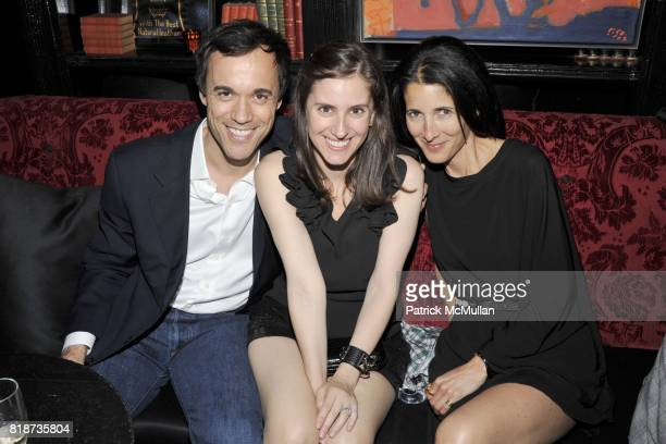 Lloyd Nathan Elana Posner and Amanda Ross attend The Lion Dinner Hosted by Charlie Kim Dori Cooperman Ulla Parker MasterCard Meatpacking VIP Shopping...