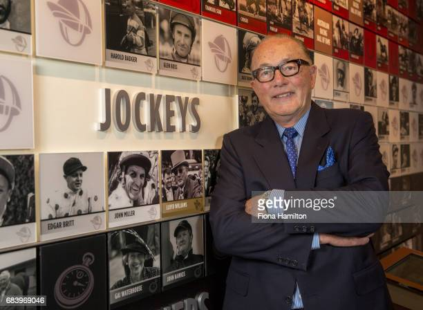 Lloyd Williams at National Sports Museum on May 17 2017 in Melbourne Australia