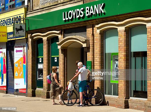 Lloyds Bank branch in Lowestoft
